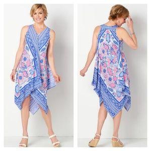 Handkerchief Maxi Dress MD